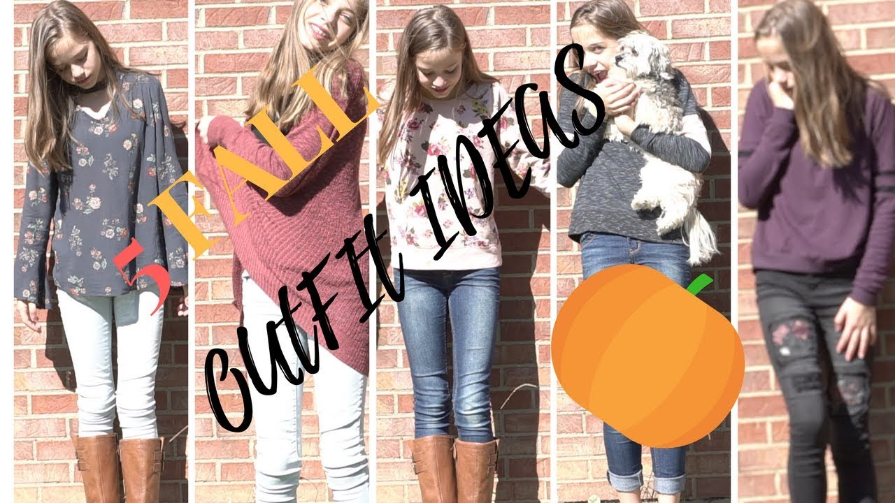 5 FALL OUTFIT IDEAS
