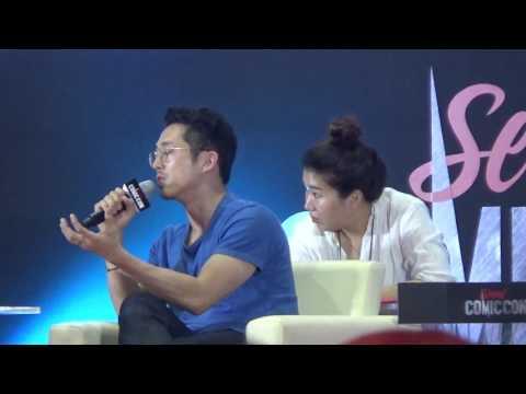 170805 Comic Con Seoul Amazing Stage Steven Yeun Full Ver 연상엽 스티븐연
