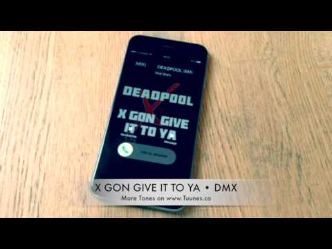 X Gon' Give It To Ya Ringtone (Deadpool Movie Soundtrack Remix Ringtone) • For IPhone And Android