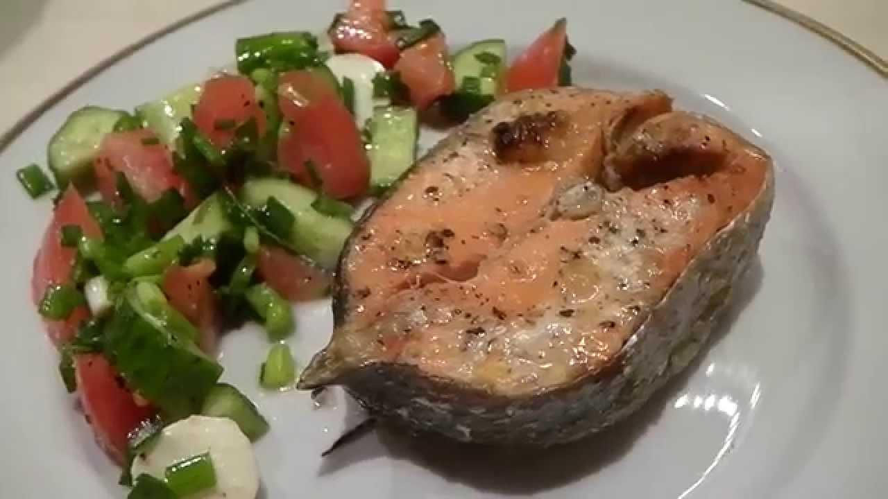 рыба стейки в духовке рецепты с фото