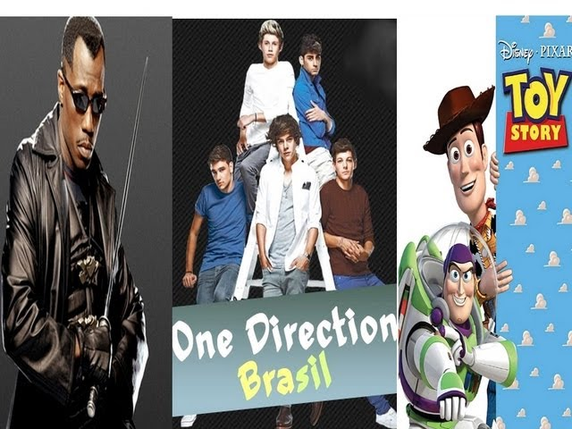 Novo Filme do Blade,One Direction Brasil,Toy Story e Riddick Vídeos De Viagens