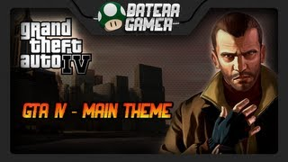 Grand Theft Auto IV (GTA IV) - Main Theme (Drum Cover) #83