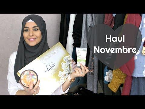 Haul Novembre 2017 (Teff Al Hub, Yves Rocher, The Body Shop , Mode... ) | Muslim Queens by Mona