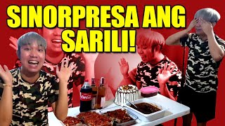 SURPRISE BIRTHDAY PARTY PARA SA SARILI KO + NAGPAKAIN SA FRONTLINERS