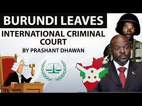 Burundi pulls out of International Criminal Court - Why did Burundi leave ICC ? - Inside Story