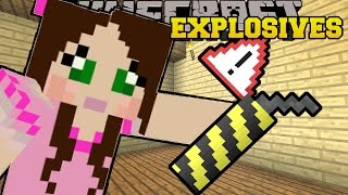Minecraft: OVERPOWERED EXPLOSIVES & WEAPONS!! (ROCKET LAUNCHERS, DYNAMITE, & MORE!) Mod Showcase thumbnail