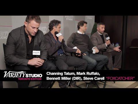 'Foxcatcher' Interview - Steve Carell, Channing Tatum, Mark Ruffalo And Director Bennett Miller