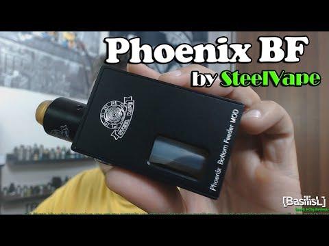 Phoenix Bottom Feeder Mod Kit By SteelVape - BasilisL (Greek Reviews)