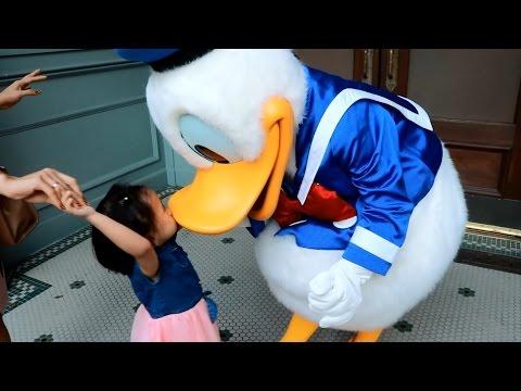 Donna The Explorer Celebrates 3rd Birthday At Hong Kong Disneyland