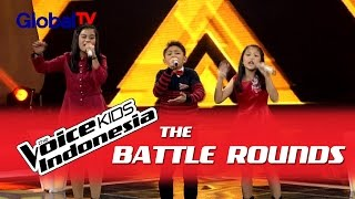 "Video Charisa vs Alif vs Michelle ""Just Give Me A ..."" 