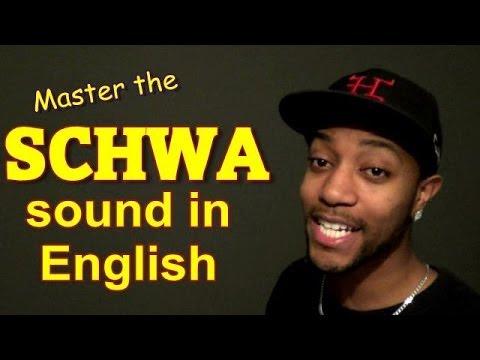The SCHWA in ENGLISH (ə)
