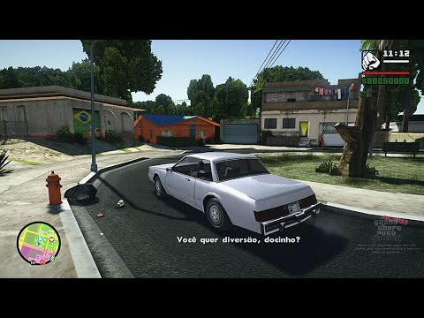 GTA San Andreas Brasil & V Graphics  Mods (Download - Install)