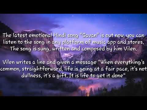 savan-song-by-vilen-lyrical-video