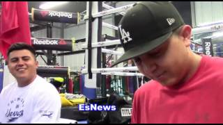 Paulie Malignaggi Talks To Robert Garcia About Sparring Conor McGregor EsNews Boxing