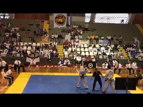 Taekwon Do Copa del Mundo Rio de Janeiro Nov 2015 Carlos Gutierrez