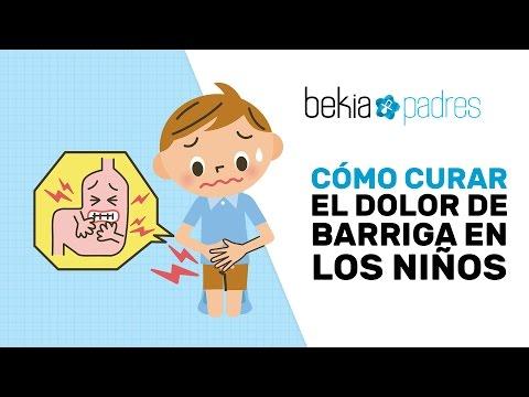 Tratamiento para dolor de estomago y diarrea en ninos