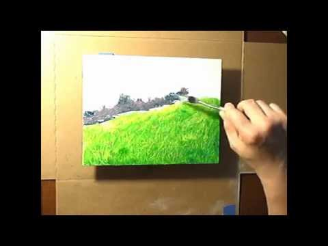 Landscape Painting–Home Sweet Home