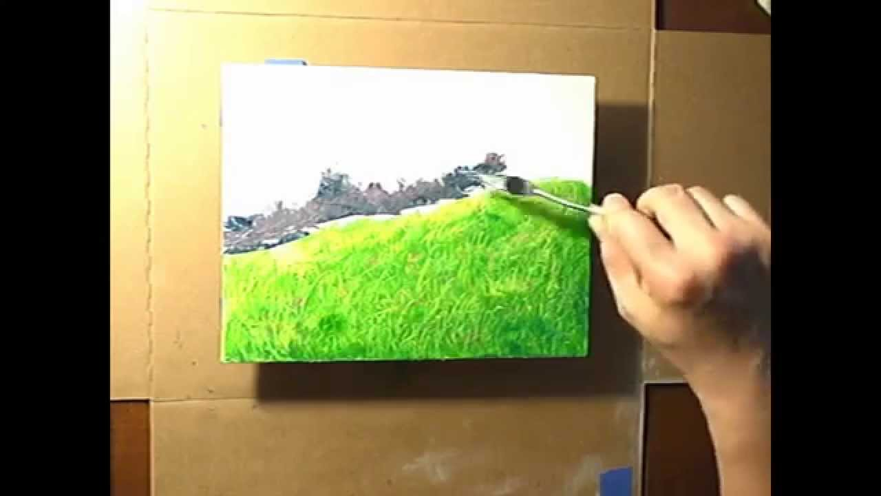 Home sweet home painting - Landscape Painting Home Sweet Home
