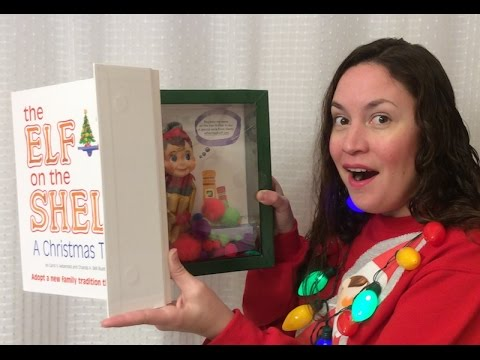 UNBOXING THE GOLD ELF ON THE SHELF