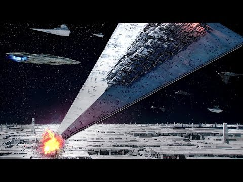 Star Wars Battlefront 2 All Capital Ship Battles & Explosions (ALL ERAS)
