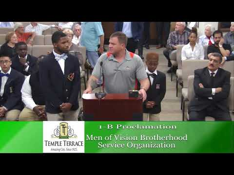 Temple Terrace City Council Meeting  8-7-18