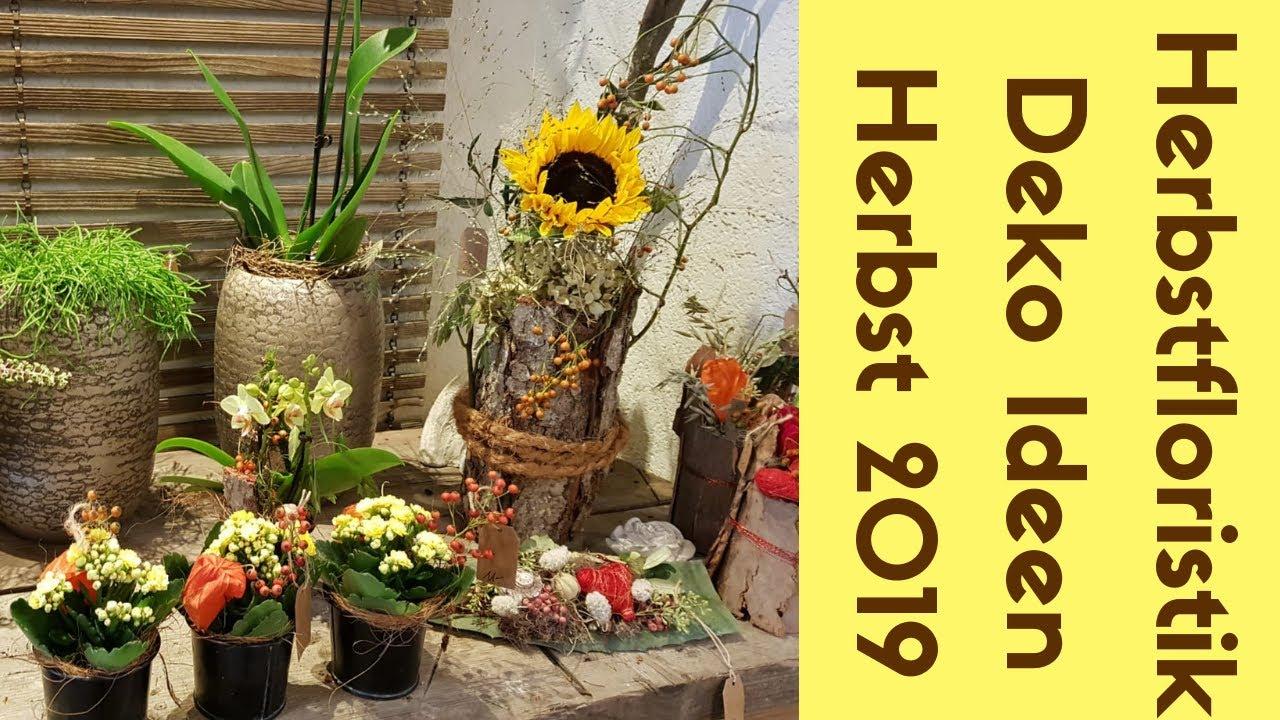 Herbst Deko Ideen Herbst Floristik Aus Dem Blumenladen Flora Line Grosshöchstetten Herbst 2019