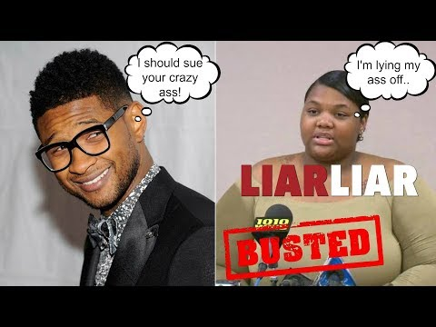 *RECEIPTS* USHER ACCUSER EXPOSED BY HER FRIENDS ON VIDEO FOR LYING!