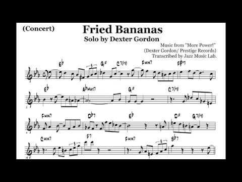 (Concert) Dexter Gordon Transcription