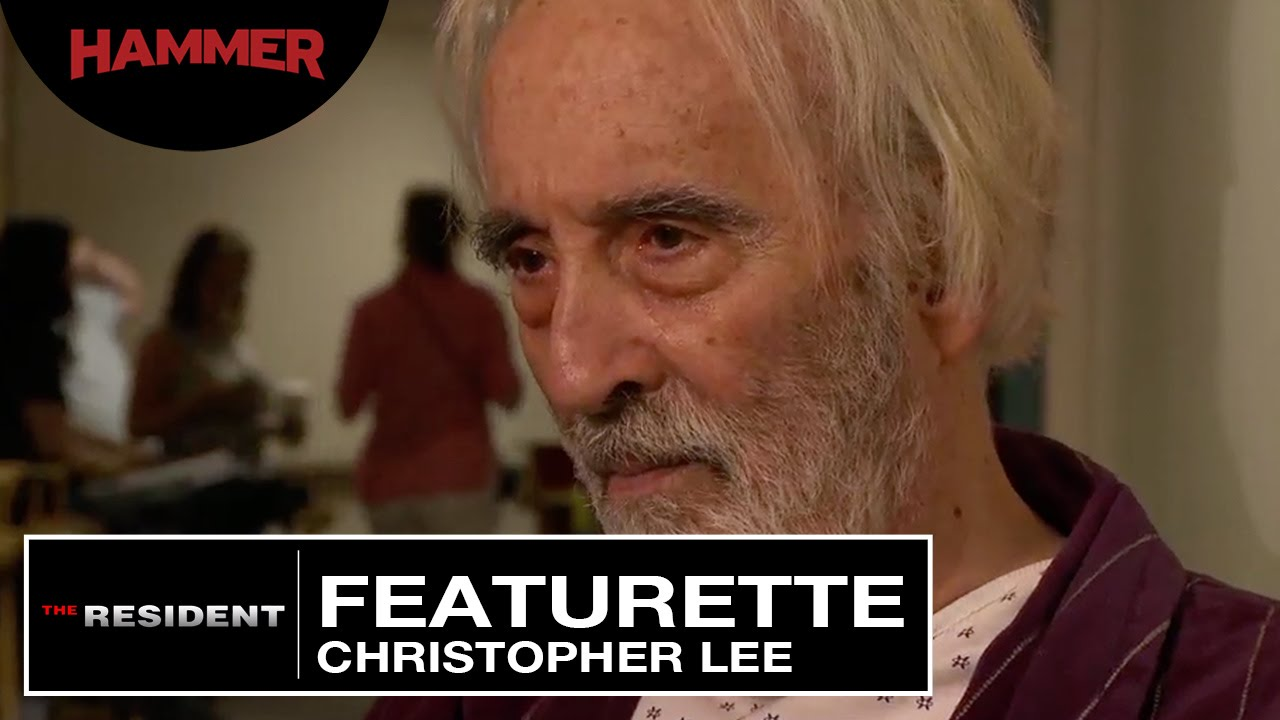 The Resident / Cast and Crew on Christopher Lee - YouTube