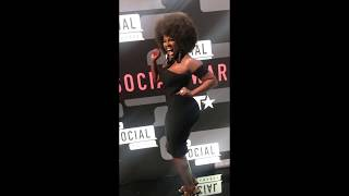 Amara La Negra Why LAHHMIA Fans Really Love Her  Afro At BET Social  Awards 2017