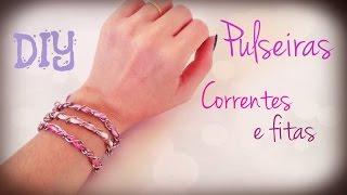 Como fazer Pulseira – DIY Bracelet by Carla Fernanda