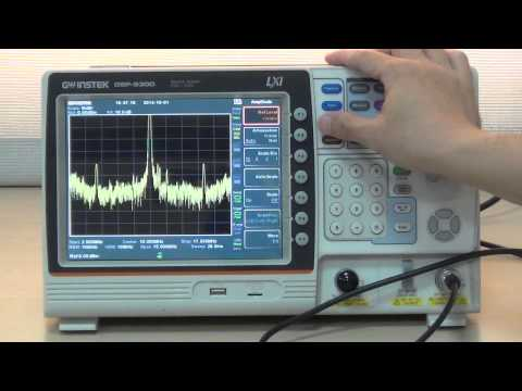 GSP-9300 How To Measure 10MHz Reference Output signals?