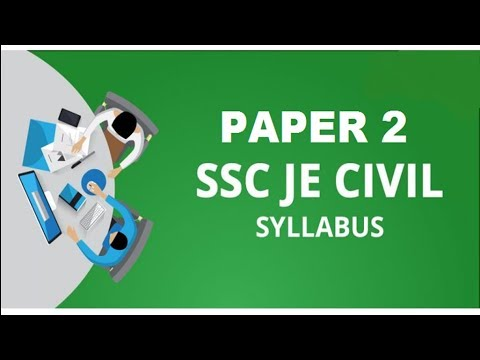 SSC JE 2018 Mains Full Syllabus and Topic Wise Weightage