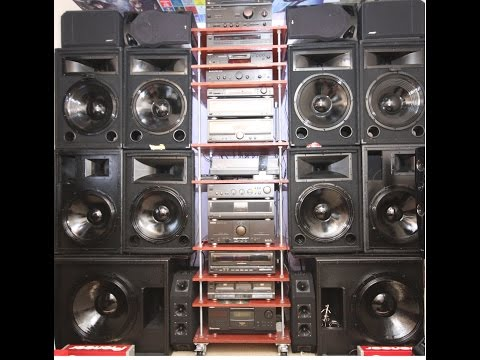 A very big hi-fi system