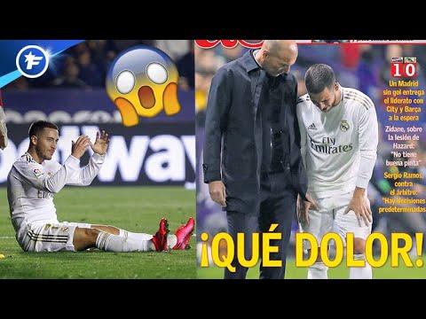 La rechute d'Eden Hazard plonge le Real Madrid dans la tourmente | Revue de presse