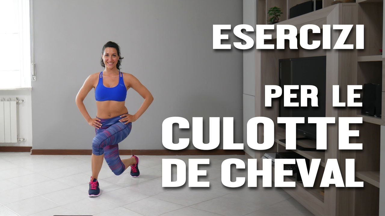 esercizi per il grasso esterno della coscia
