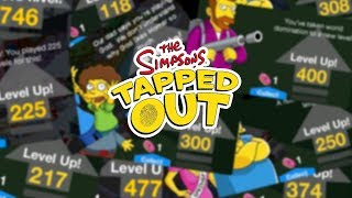 the Simpsons: Tapped Out - I Finally Hit Max Level, But What is it?
