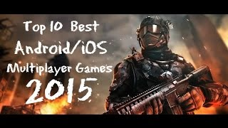 Best (Android/iOS) Multiplayer Games 2015