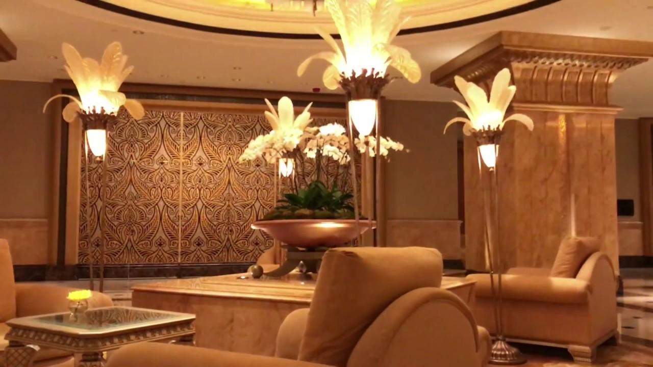 Emirates Palace Abu Dhabi Amazing view  - Interior