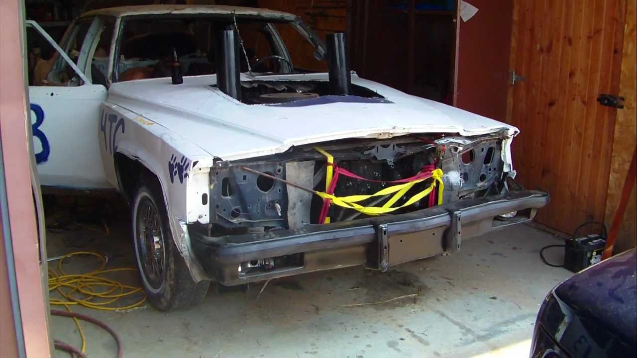 1989 Cadillac Demo Derby Car Finished Youtube