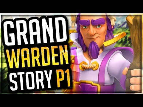How was the Grand Warden Created? - The Grand Warden's Origin Story | Clash of Clans Story [Part 1]