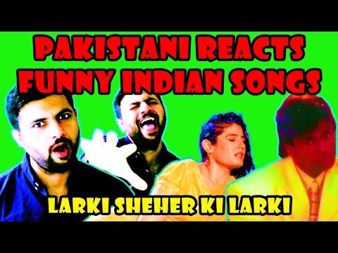 Pakistani Reacts to Old Indian Songs | Larki Sheher Ki Larki