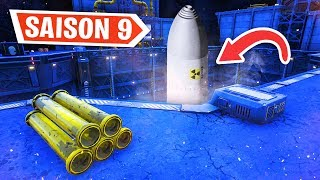 A NUCLEAR MISSILE FOR TUER THE MONSTER ON FORTNITE! (secret season 9)
