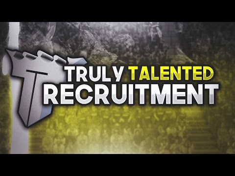 Truly Talented RECRUITING NOTHING  BUT THE BEST! • UNDERRATED YOUTUBERS, DESIGNERS AND EDITORS.