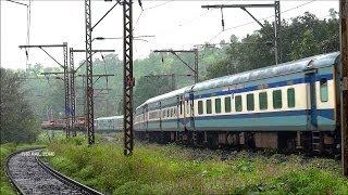 HYBRID LHB TRAIN : INDIAN RAILWAYS ( 12542 LTT- GKP : SANT KABIR DHAM EXPRESS)   THULL GHAT KASARA