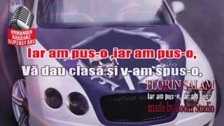 FLORIN SALAM - IAR AM PUS-O, KARAOKE SUPER STARS