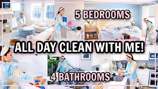 ENTIRE HOUSE CLEAN WITH ME 2021! ExTrEmE CLEANING MOTIVATION! | Alexandra Beuter