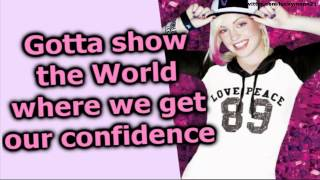 V. rose - Christian Girl (Lyrics On Screen Video HD) New Pop