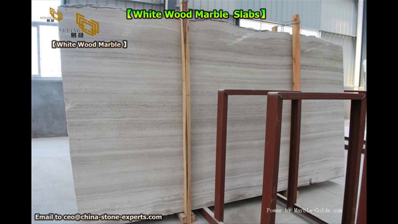 china white wooden vein marble slabs for bathroom and kitchen