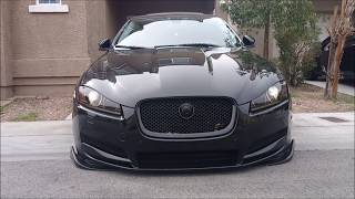 We just bought a 2015 Jaguar Xf RS Tubo and Installed Coilovers & PLU-Bushing,